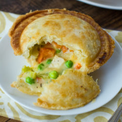 Loaded Mini Chicken Pot Pies