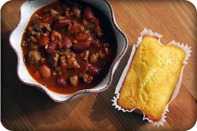 chili amp cornbread life made simple