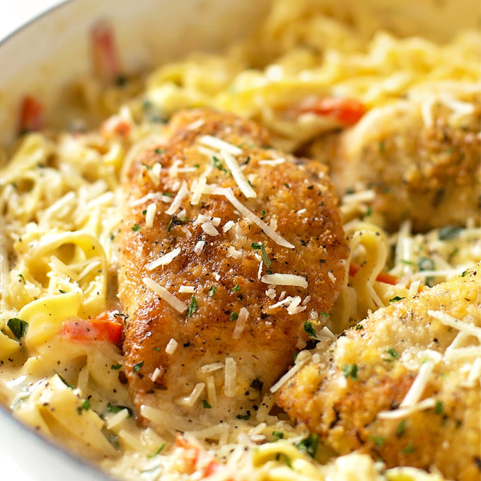 Copycat Olive Garden Tuscan Garlic Chicken Life Made Simple