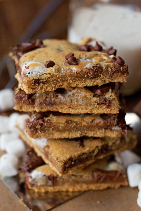 Graham Cracker S'mores Bars