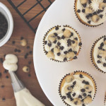 Vanilla Chocolate Chip Cookie Cupcakes