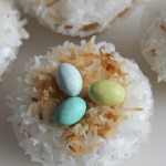 Coconut Snowball Cupcakes