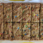 Sweet and Salty M&M Pretzel Bars