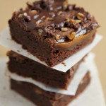 Caramel Pecan {Turtle} Brownies