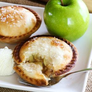 Mini Apple Pie A La Mode - Life Made Simple