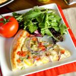 Chicken Veggie Pizza + A Dough Recipe