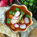 Pozole Rojo + Homemade Tortillas