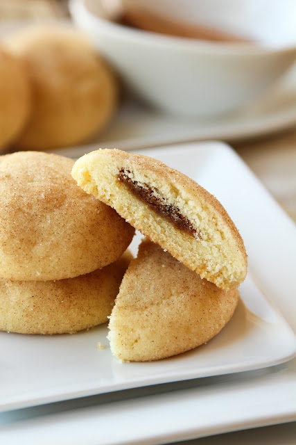 Biscoff Stuffed Snickerdoodles - Life Made Simple