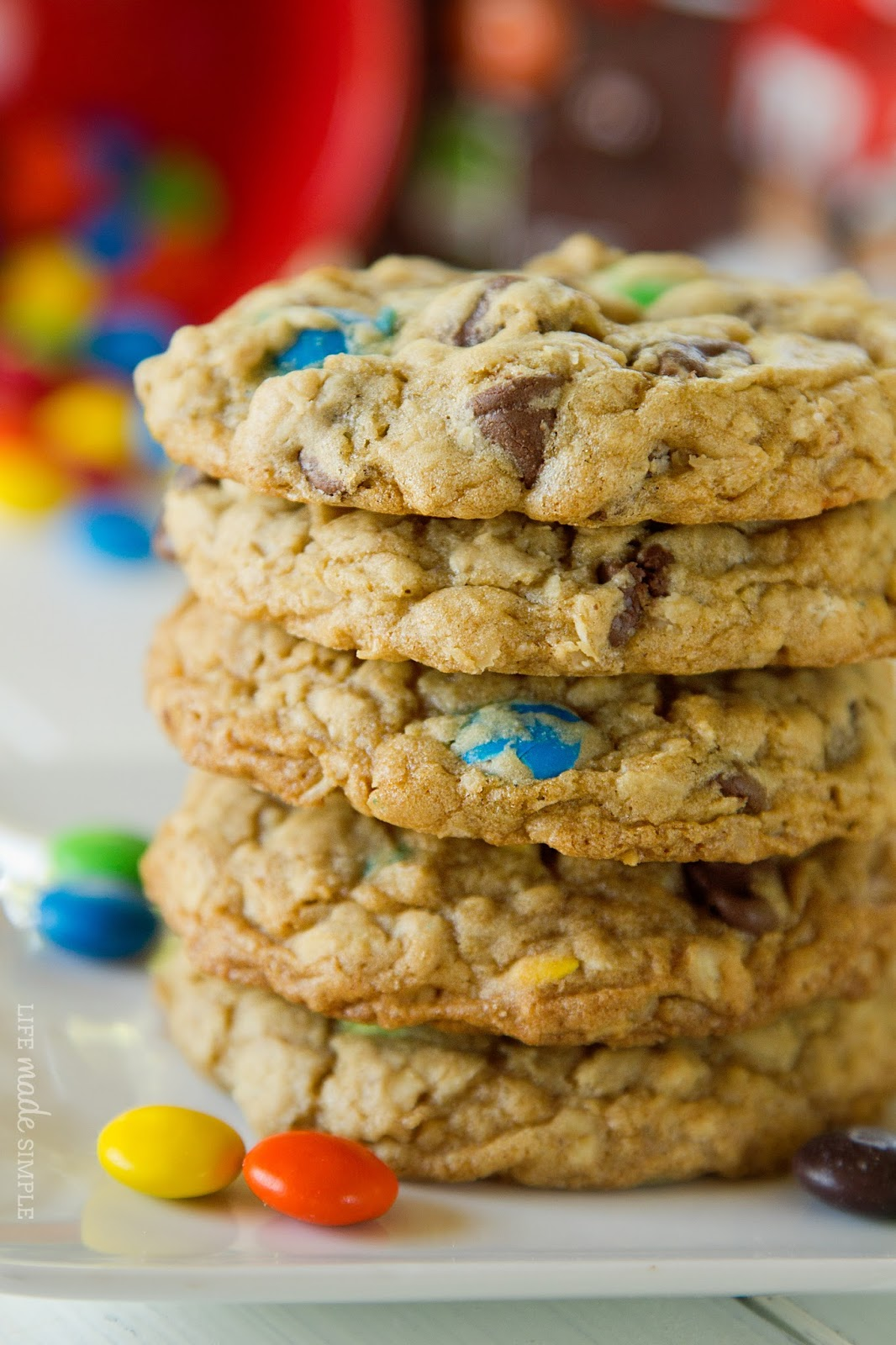 Chocolate Chip Oatmeal Cookies - Life Made Simple