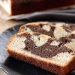 Marbled Banana Chocolate Chip Bread