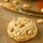Chewy Chunky Peanut Butter Cookies