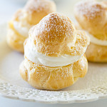 Homemade Cream Puffs