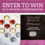 GIVEAWAY: Mini Cheesecake Pan
