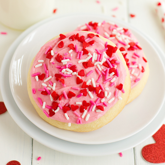 Bakery Style Sugar Cookies - Life Made Simple