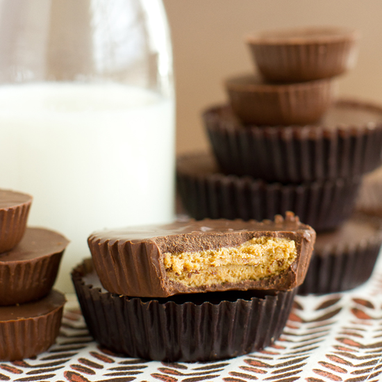 homemade peanut butter cups peanut butter cups made simple 12562