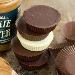 Cookie Butter Cups - Life Made Simple