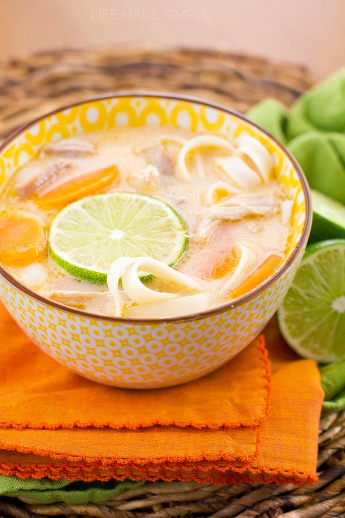 Thai Chicken Noodle Soup 1