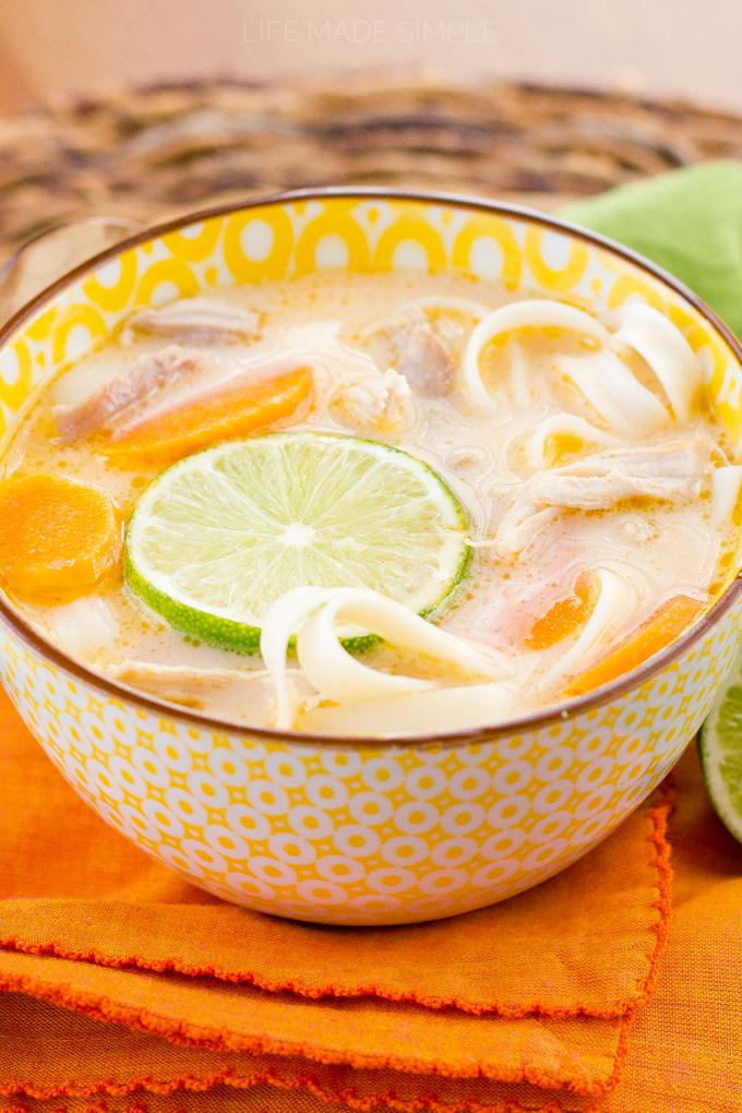 Thai Chicken Noodle Soup 3