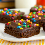 Homemade Cosmic Brownies