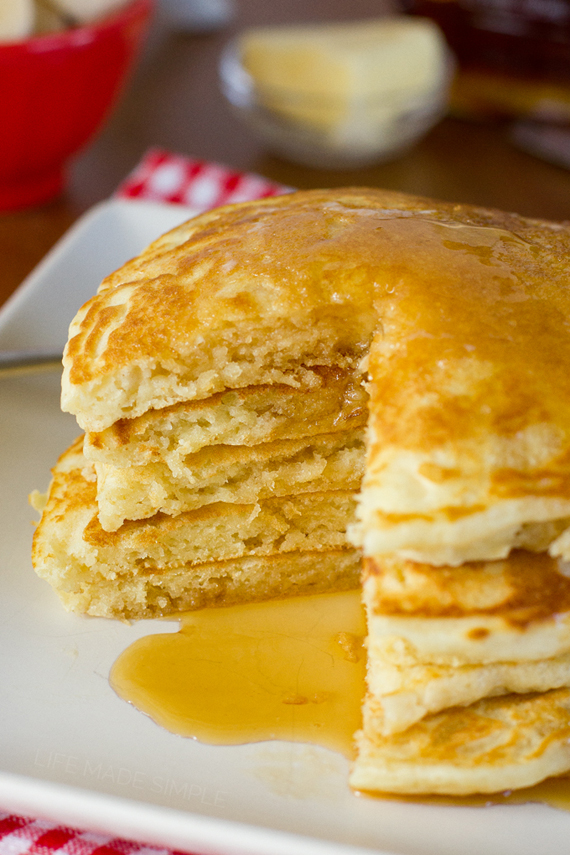 Buttermilk Pancakes | Life Made Simple