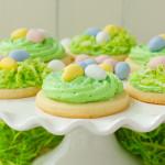 Bird's Nest Easter Sugar Cookies