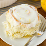 Lemon Poppy Seed Sweet Rolls