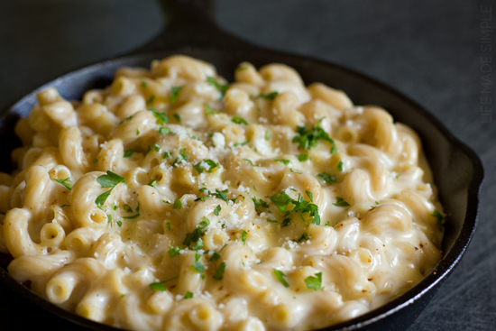stovetop mac and cheese bechamel