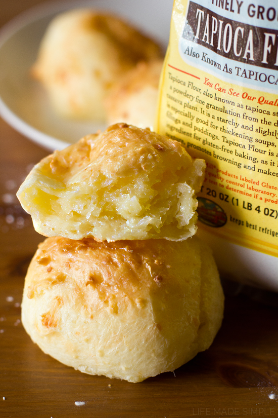 Pão De Queijo (Brazilian Cheese Bread) - Life Made Simple