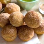Mini Cinnamon Sugar Doughnut Muffins (aka Snickerdoodle Doughnut Holes)