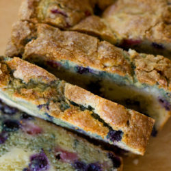 Red White and Blueberry Bread