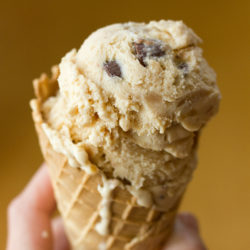 Triple Treat Peanut Butter Ice Cream