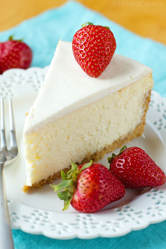 Perfect New York Cheesecake - Life Made Simple