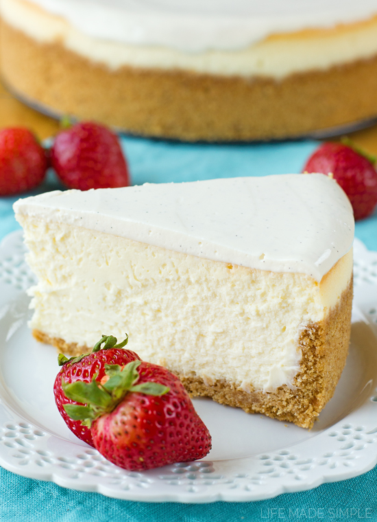Perfect New York Cheese Cake