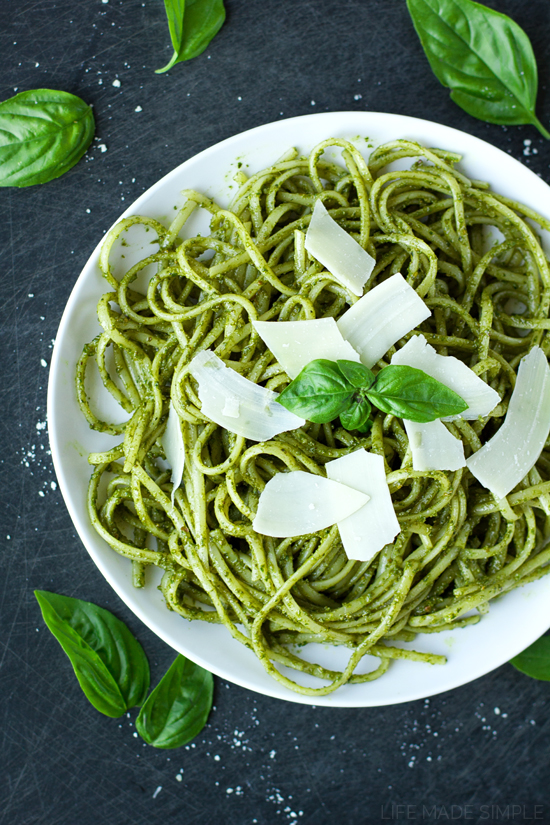 Fresh Basil Pesto - Life Made Simple