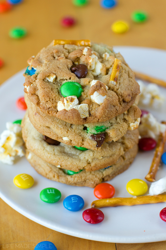 Movie Night Chocolate Chip Cookies