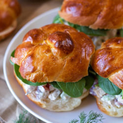 Autumn Chicken Salad Sandwiches