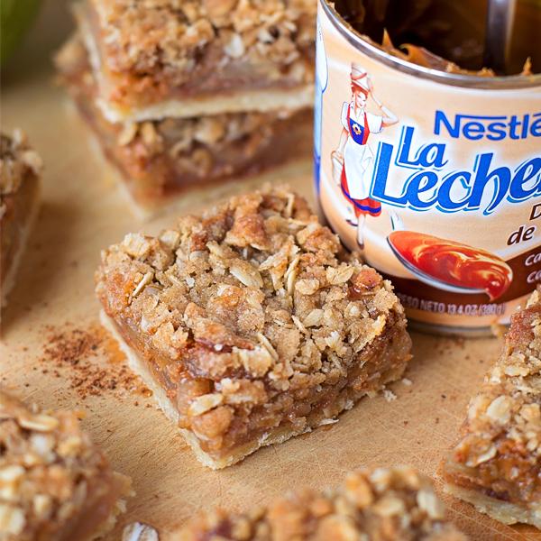 Dulce de Leche Apple Pie Bars - Life Made Simple