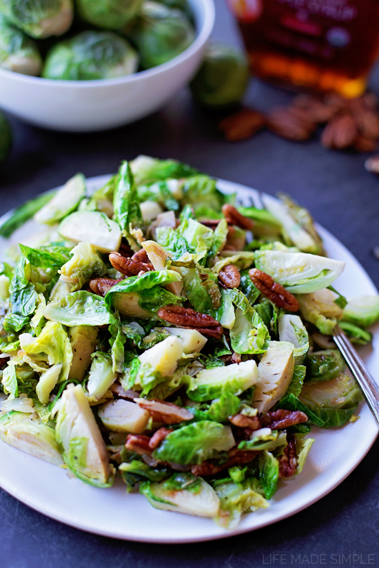 Maple Pecan Brussels Sprouts Life Made Simple
