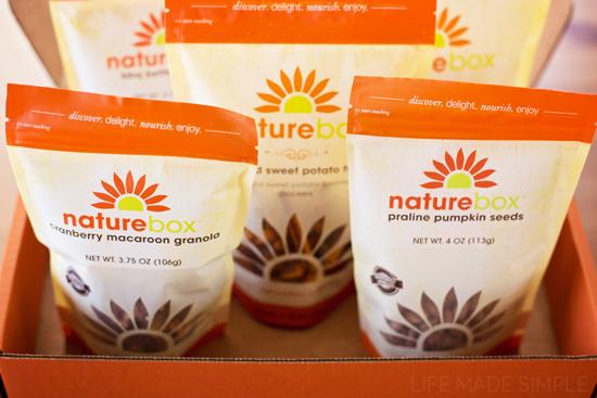 Nature Box Fall Snack Mix