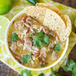 Spicy Chile Verde Stew