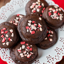 Candy Cane Joe-Joe's Stuffed Chocolate Cookies