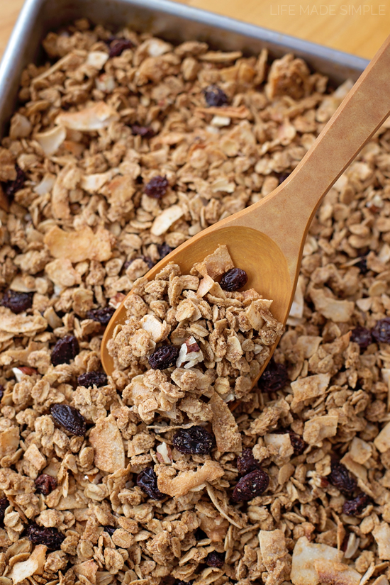 Oatmeal Cookie Granola