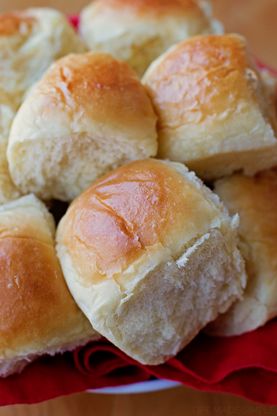 Potato Pull-Apart Rolls