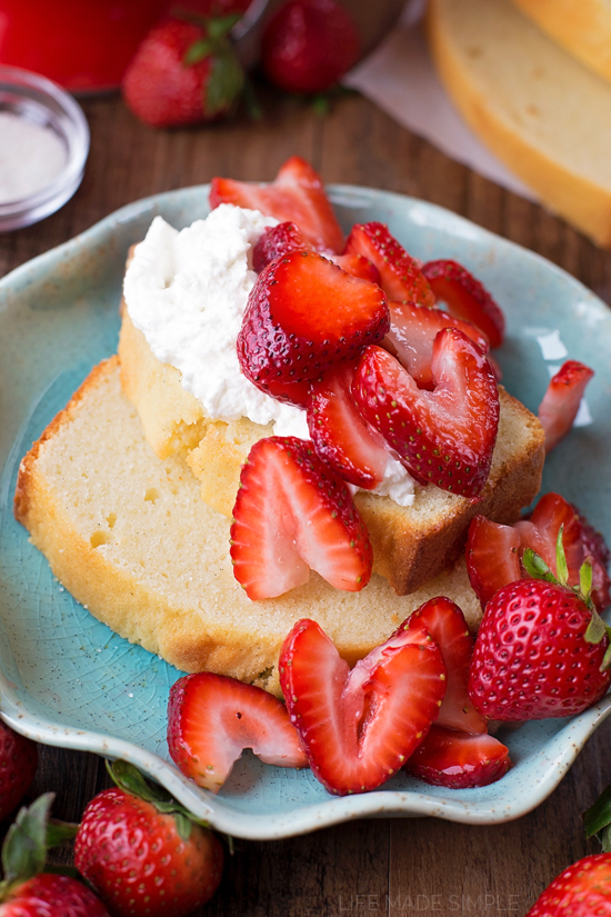 Vanilla Bean Pound Cake - Life Made Simple