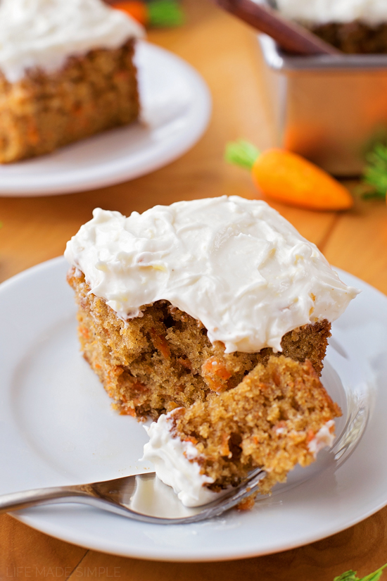 guarantee everyone will love this carrot cake sheet cake- it's the ...