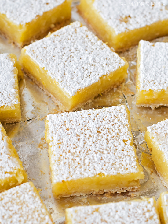 hope you'll give these lovely classic lemon bars a try- they're ...