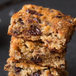 Coconut Flour Chocolate Chip Snack Cake