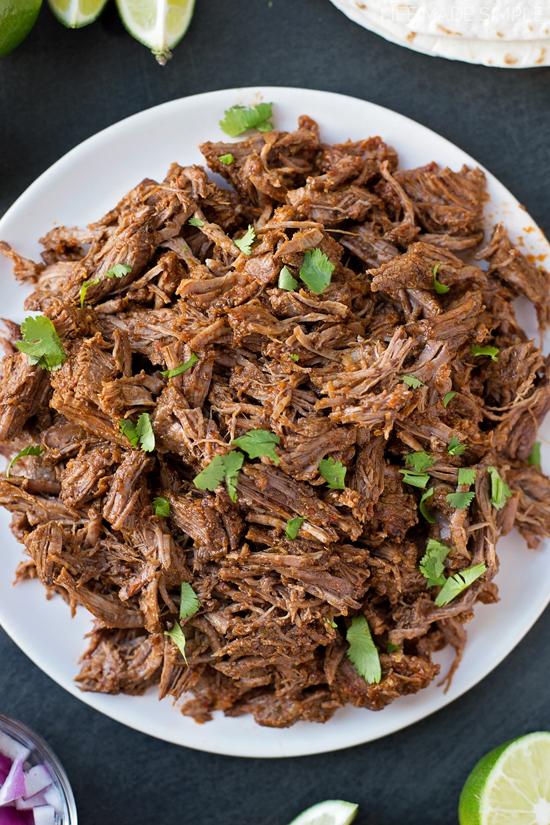 Crazy Delicious Beef Barbacoa