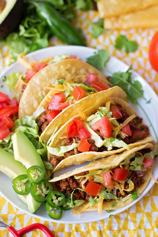 Favorite Beef Tacos