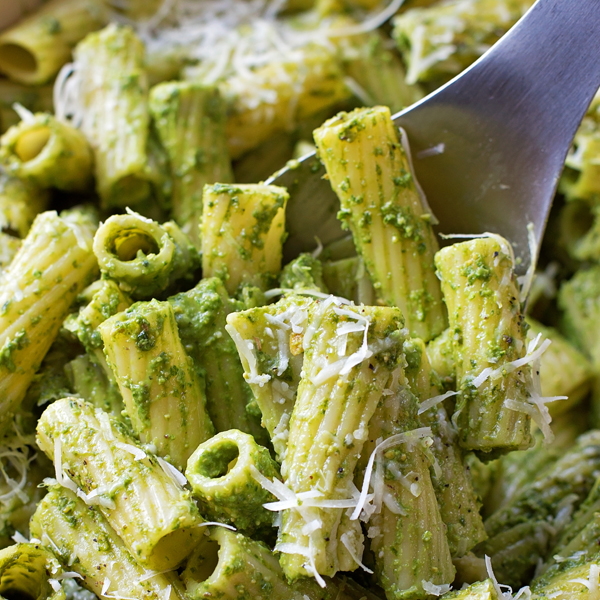 Vegetarian pesto pasta bake for Courgette and tomato bake bbc